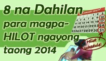 8 na Dahilan para magpa-Hilot ngayong taong 2014