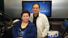 """Ang host ng 'Pinoy Vibes' na si Stargazer at si Dr. Bibiano """"Boy"""" Fajardo"""